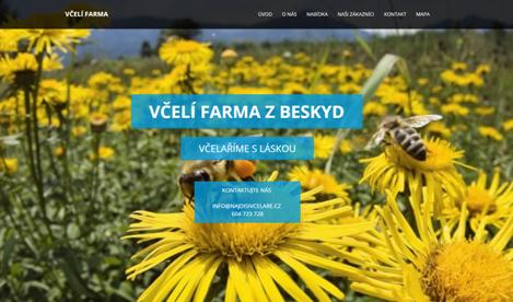 Webové stránky pro včelaře